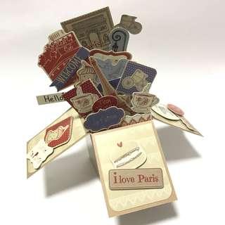 3D gift card