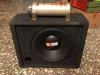 JBL 12吋重低音喇叭含電容