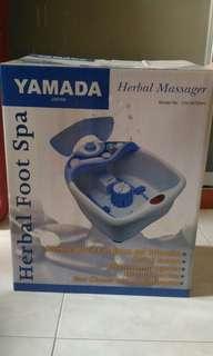 Herbal Foot Spa (New!)
