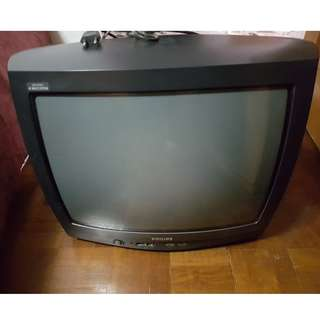 Philips CRT 20 inch TV (used) for sale