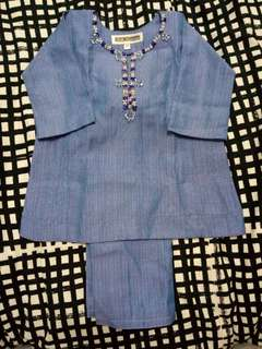 Bak's Tailor Baju Kurung size 1year old