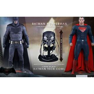 1/6 Hot Toys Batman Vs Superman set Special Edition