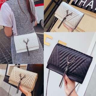 Tas Selempang Sling Bag Fashion Wanita Cewek Impor Import Code 3183