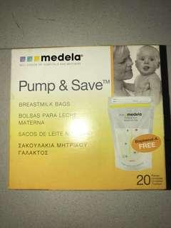 Breast milk bags