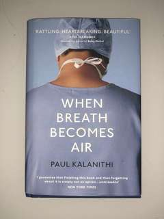 When Breath Becomes Air (HARD COVER)