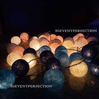[RENT] Cotton Ball Lights
