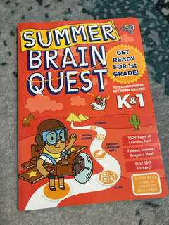 Brain Quest Work Book for K1