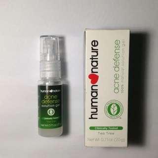 🍃Human Nature Tea Tree Acne Defense Solution Gel🍃