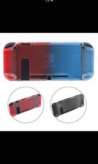 Joy-con Thin Slim Protective Crystal Hard Case Cover Anti-Slip Shell 3 Part Design Separated for Nintend Switch