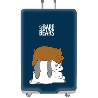 Bare Bears luggage cover