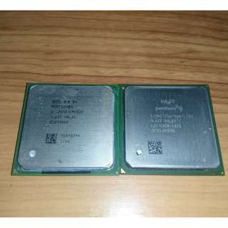 Intel Pentium 4 Processors  ( Northwood 2.4 Ghz | 1.7Ghz Williamette)