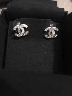 全新 Chanel 耳環 earrings