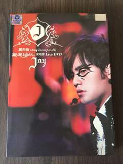 周杰伦 无与伦比 演唱会 Jay Chou Incomparable Concert DVD