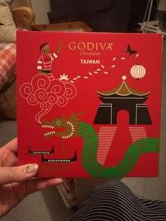 台灣直送godiva特別版朱古力