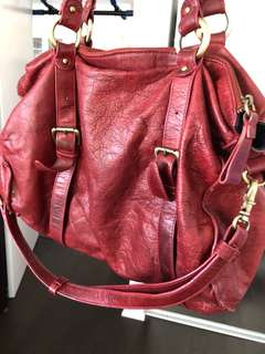 Urban outfitters leather bag