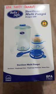 Baby safe sterilizer multi fungsi dengan LED 350 watt