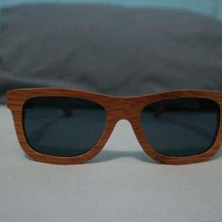sunglasses frame kayu