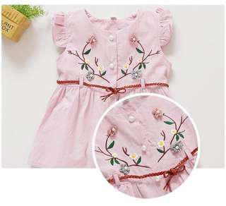 Dress designed in Korea