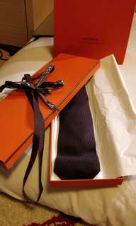 Hermes Tie brand new with box