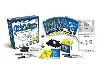 🆕 Telestrations (8 Players) Board Game