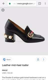 GUCCI LOAFERS SIZE 37