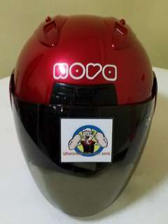 1806*** Nova Helmet For Sale 😁😁Thanks To All My Buyer Support 🐇🐇 Yamaha, Honda, Suzuki