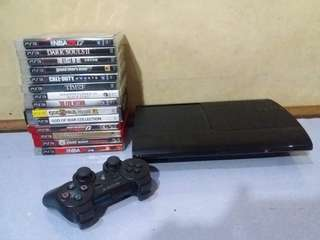 Play Station & CDs