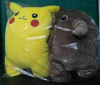 #KayaRaya  Pikachu Soft  Doll (Paired)
