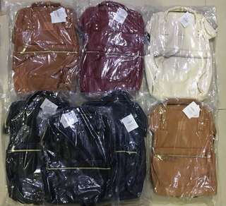 Anello Leather two way bag oem Quality