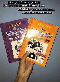 DIARY OF WIMPY KID ENGLISH VERSION ( 2 BUKU )