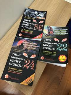 True Singapore Ghost Stories (3 for $15)