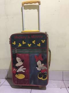 Koper Dorong Roda Minnie Mickey Mouse
