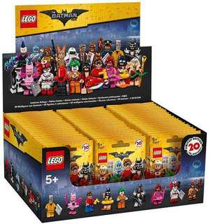 LEGO BATMAN MOVIE MINIFIG SERIES 1 NEW BOX 60 in Brown Carton
