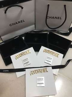 Chanel brooch/ pin set