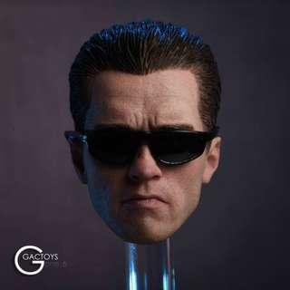 PRE-ORDER : GAC Toys GC016 - Caucasian Male Head Sculpt Terminator Arnold