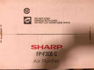 Brand New Sharp FP-F30E-C Air Purifier(sealed)