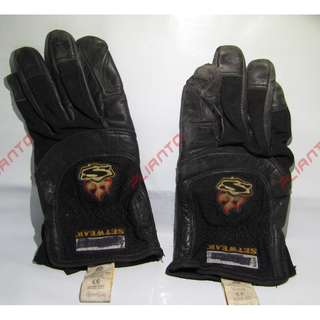 Setwear Pro Leather Gloves Medium Black