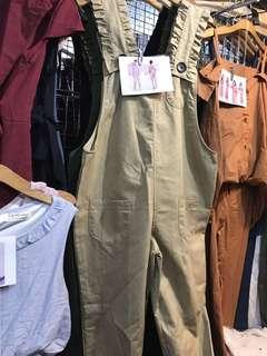 Lady soft denim Cargo Pants