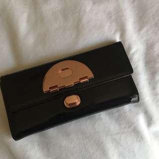 Mimco Black Signature Wallet RRP $200