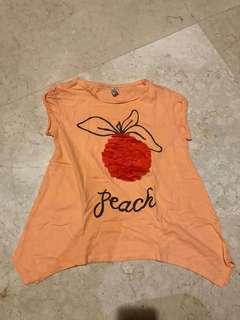 Zara kids orange