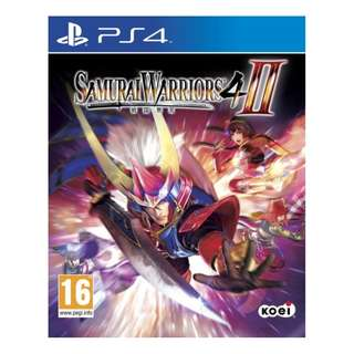 PS4 Samurai Warriors 4 II (Full English)