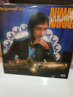 Ahmad Nawab pop instrumental vol 1 saxsational Vinyl Record