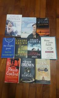 Various Books, Fiction and Non-fiction 5.00sgd each