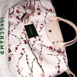 Longchamp Le Pliage Neo Sakura Pink