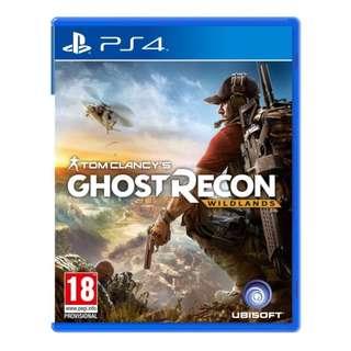 PS4 Tom Clancy's Ghost Recon Wildlands