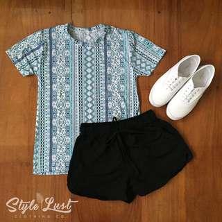 Aztec Blue Soft Top