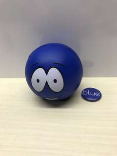 🚚 Stress Reliever Ball and Collar Pin