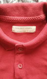 Zara Red Polo Shirt