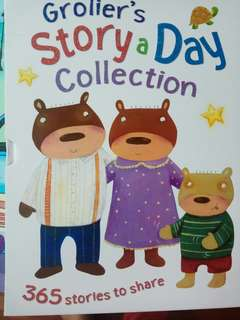 Grolier story a day collection