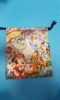 迪士尼繩索袋。